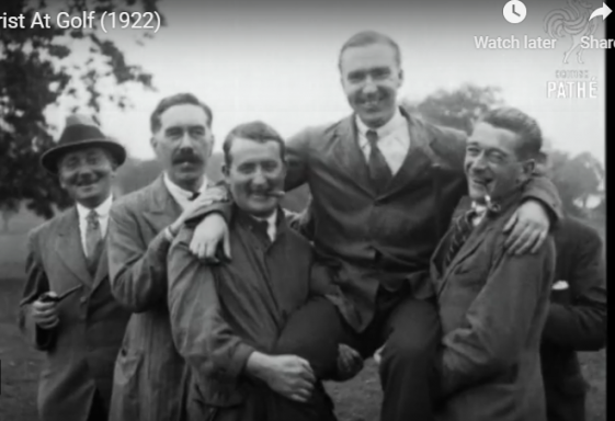 Motor Trade annual golf tournament in Delgany Golf Club 1922