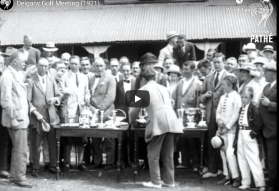 Motor trade annual golf outing in Delgany Golf Club 1921