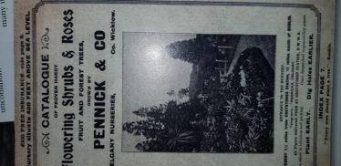 Pennicks catalogue | Mary Forest Irish Garden magazine February 2017