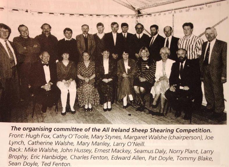 All-Ireland Sheep Shearing Committee, Donard/Glen | Photo Donard/Glen All-Ireland Sheep Shearing Championship C 1994