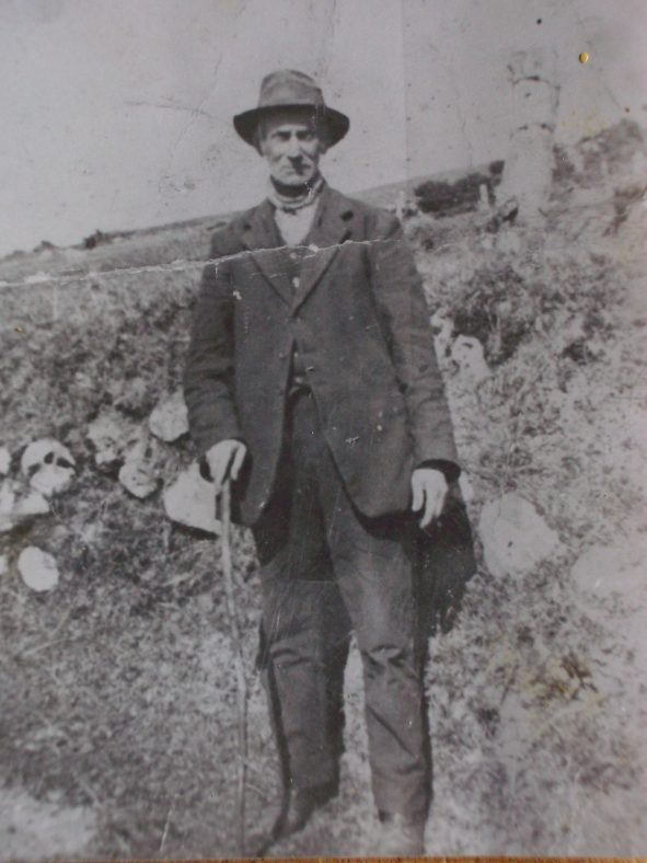 Mr. Toomey, Mick Keogh's maternal grandfather | Photo courtesy of Mick Keogh
