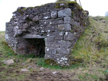 Lime kiln built into the hillside at Brittas, West Wicklow | Photo Jim Butler C 2020