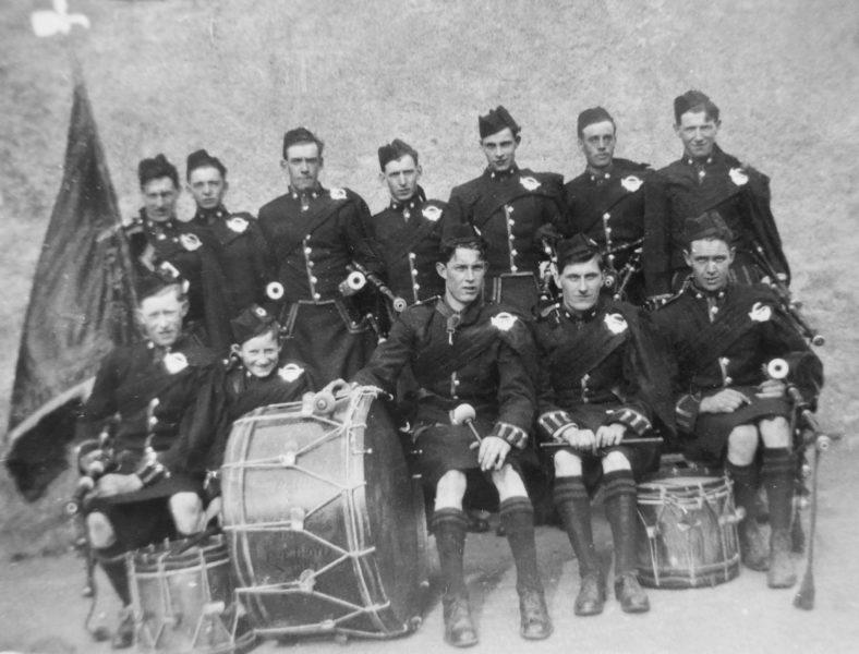 Photo 8.  Donard Pipe Band c1924