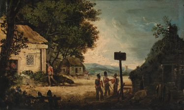 The Search for Michael Dwyer by William Sadler the Younger. | National Gallery of Ireland