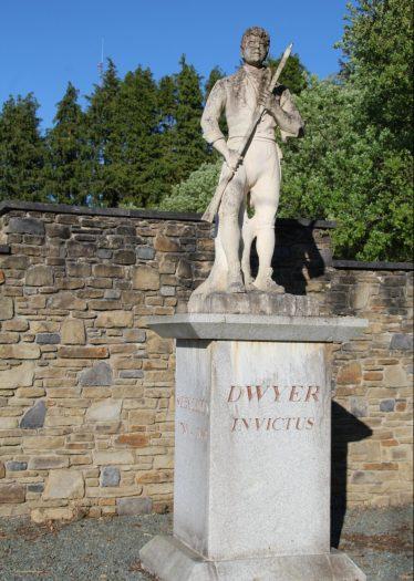 Memorial statue of Michael Dwyer in the Glen of Imaal | Jim Butler C 2020