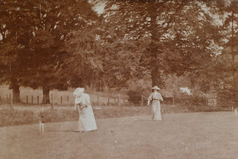 Croquet on the lawn at th Demesne | Simon Curthoys