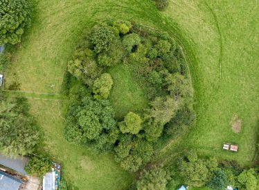Aerial view of Motte | Josh Ryan