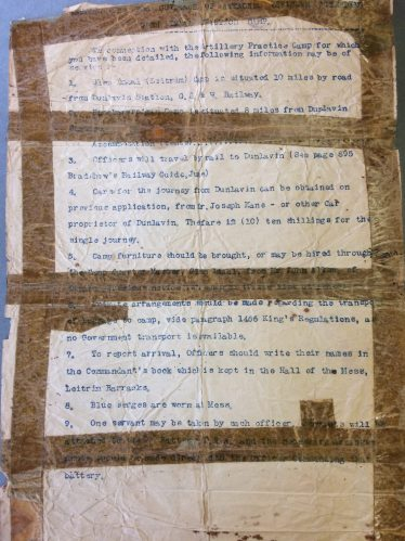 Officer rules | National Library of Ireland
