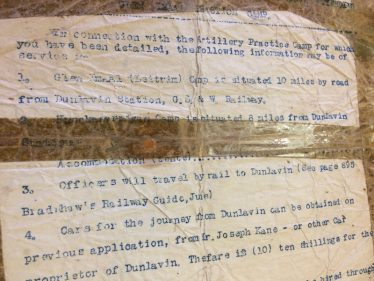 Officer guidance for camp | National Library of Ireland