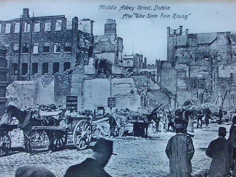 Middle Abbey St, Dublin 1916 | J Butler C 2020