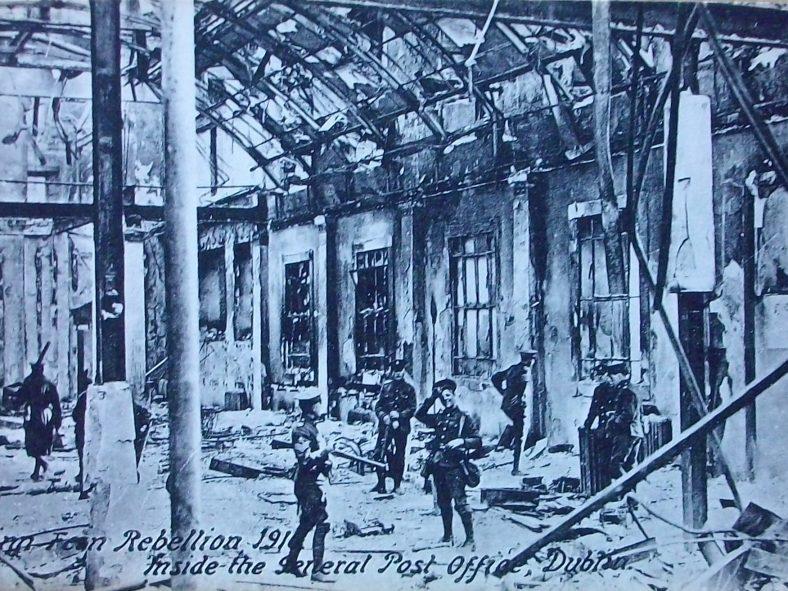 Int GPO 1916 uprising | J Butler C 2020