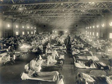 1918 Spanish Flu | Wikimedia commons