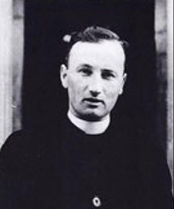 Photograph of Father Jack Hanlon | Photo courtesy of Pauline Flynn