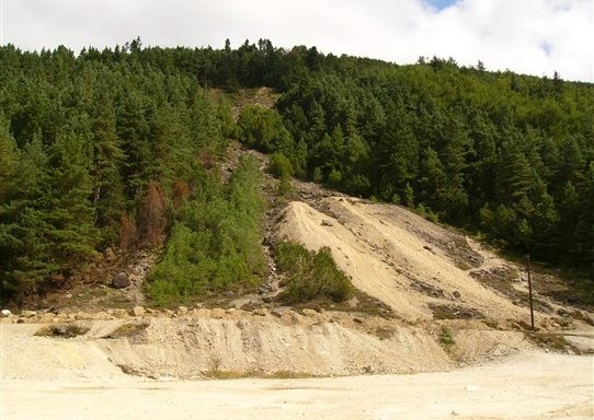 Ballinafunshoge - mine site