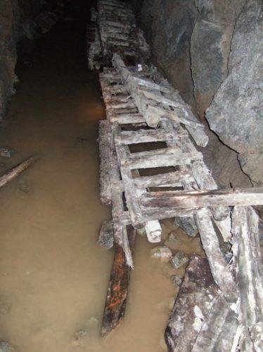 A tunnel in the Fox Rock Mine, Glendasan | Martin Critchley