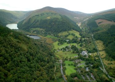 Camaderry Mountain separates the valleys of Glendalough and Glendasan  | Courtesy of Wicklow County Council