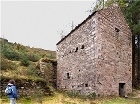 New Crusher House pre conservation work | Martin Critchley