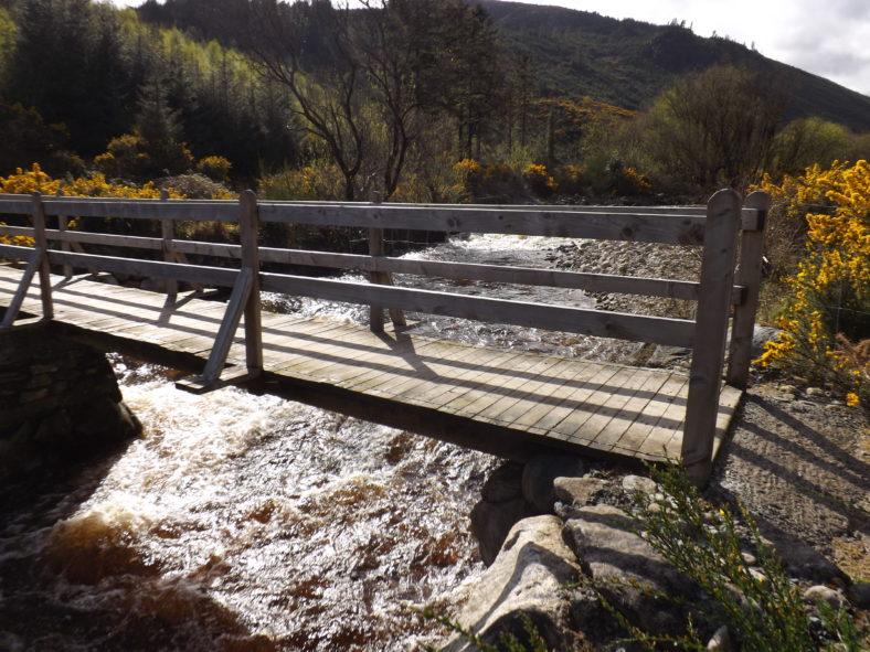 The Footbridge at Baravore, Glenmalure