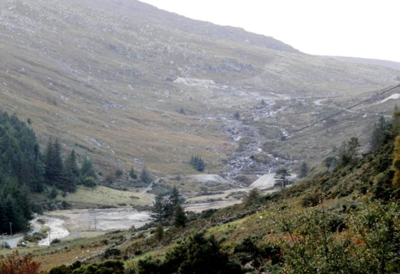 The Glens of Lead  ... Glendasan, Glendalough and Glenmalure