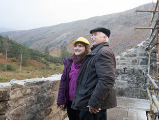 Carmel O'Toole and Peter Murphy at the New Crusher House | Joe Haughton