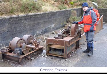 Dave Shepher at the Crusher, Foxrock, Glendasan