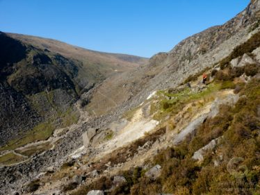 Glendalough Valley with view of Van Diemen's Land mine workings