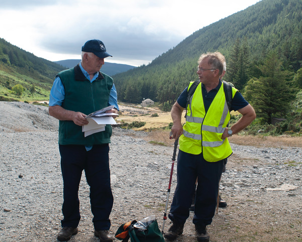Robbie Carter and Pat Dunne on the Miners' Way | Pure Mile