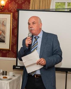 Dave Shepherd, Miners' Way committee member in the Glenmalure Lodge | Joe Haughton