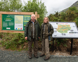 Wesley Atkinson and Anne Fitzpatrick Wicklow Mountains National Park | Joe Haughton