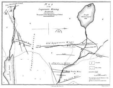 Figure 3 Map of the Luganure Mining District