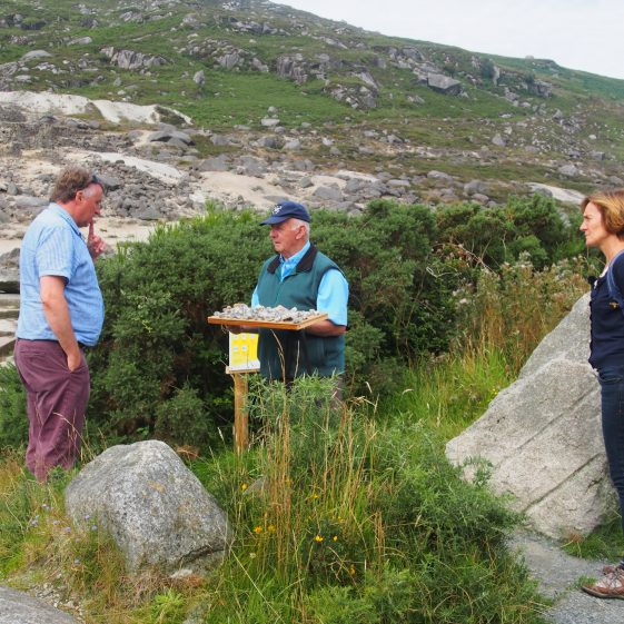 Niall Martin, Robbie Carter and Jane Clarke planning the day | Joan Kavanagh