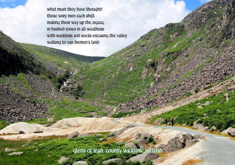 Daoine agus Áit Connecting our Communities Postcard Project - Glens of Lead | Joan Kavanagh