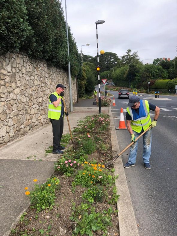 Greystones Tidy Towns at work