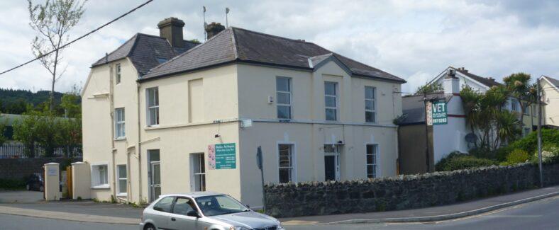 'Black Lion Inn', now Blacklion house, Veterinary Practice    Image by C. Love