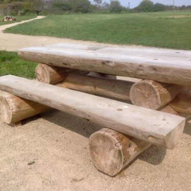 Organised paths with vandal-proof seating. | Image by Marie Burbridge