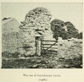 KILLINCARRIG CASTLE   The neighbourhood of Dublin, Its topography, antiquities and historical associations, Weston St. John Joyce, W. H. Gill & Son, Dublin, 1921, page 57.