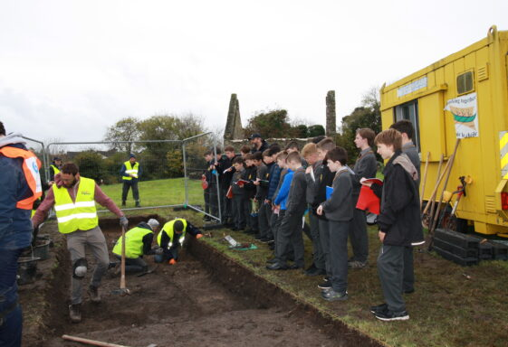 ARCHAEOLOGICAL EXCAVATION AT ST. CRISPIN'S- 05/11/2018 - 09/11/2018