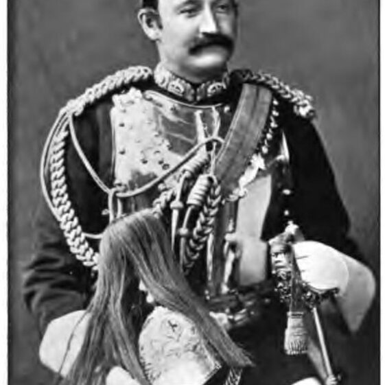 Colonel Fred Burnaby | From The Life of Colonel Fred Burnaby, Thomas Wright, Everett & Co., London, 1908.