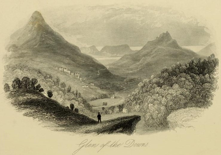 BELLEVUE | Ireland and its scenery, John Tillotson and T.J. Allman, London, 1863, pages 12-13.