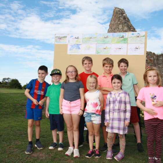 Children's Art competition, Heritage Day | Image by Dave O'Reilly