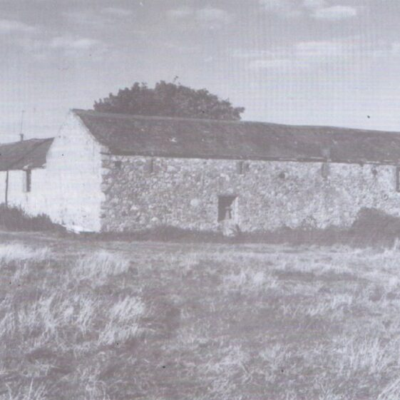 Captain Tarrant's farmhouse 1710 | Courtesy of Friends of Historic Rathdown