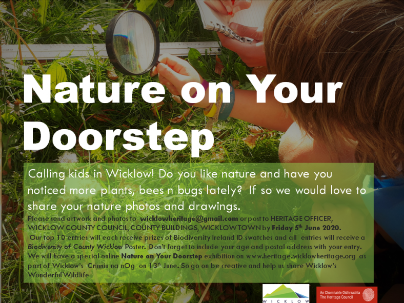 A call to share 'Nature On Your Doorstep'