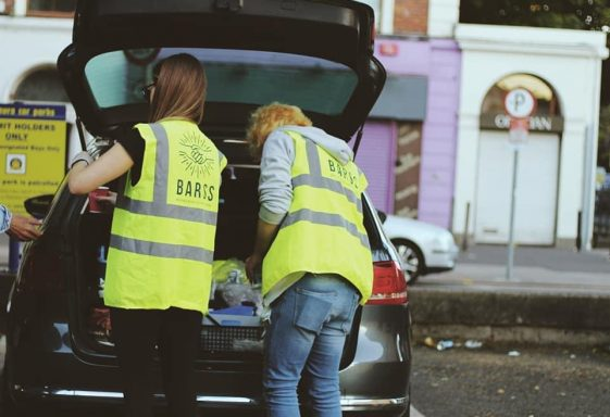 BARSS delivering hot drink to rough sleepers in and around Bray