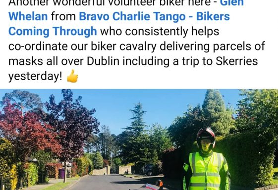 Glen Whelan - Volunteer with Brave Charlie Tango bikers