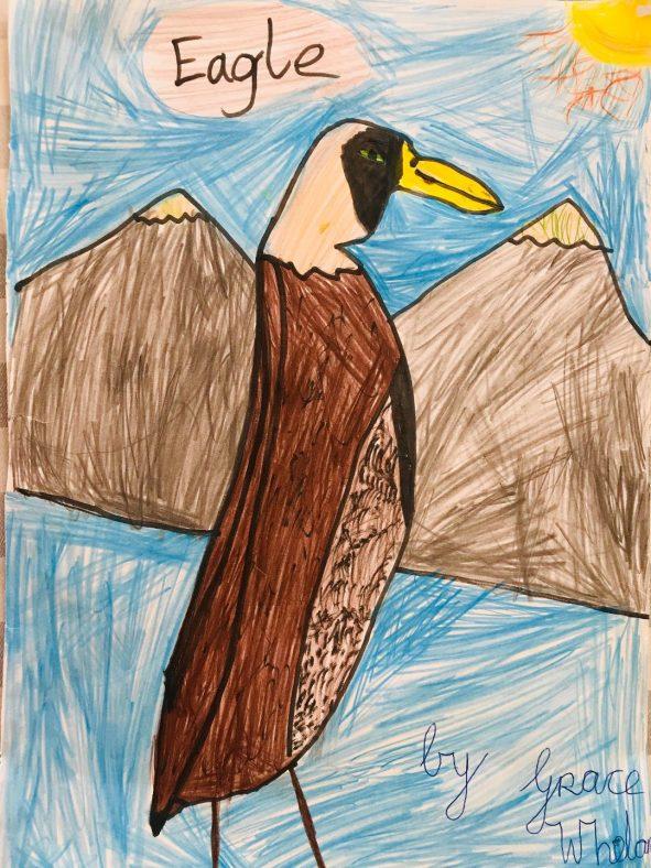 Eagle by Grace