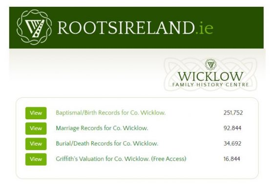 New Wicklow Records online