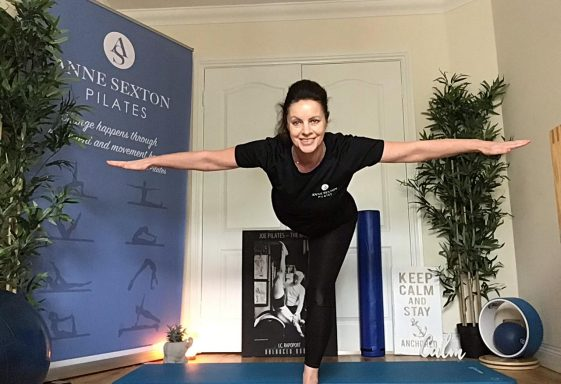 Anne Sexton - and why Pilates can be a protection against COVID19