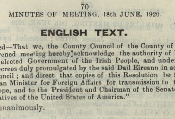ARKLOW'S 1914-1923 EXPERIENCE: Part 3 | 1918-1919