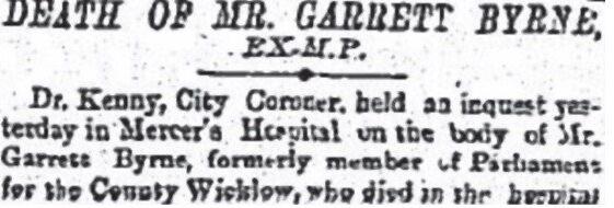 24. Garrett Byrne: West Wicklow's Home Rule MP,