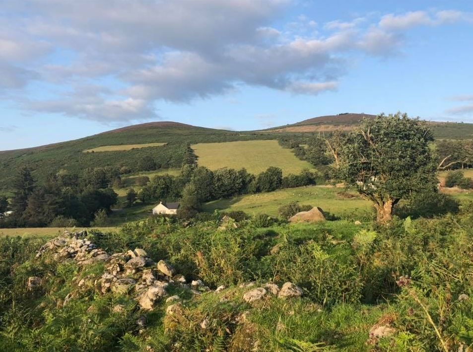 Aghowle Hill and Stookeen, climbed by Gladstone in 1877. | Photo: Colum O'Rourke